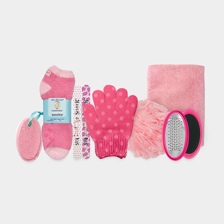 Relax & Renew Gift Basket - Pink