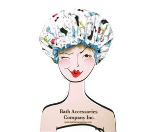 Bouffant Shower Cap Merchandiser Stand - BathAccessoriesWholesale