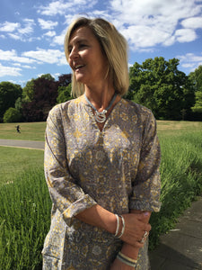 Ladies Cotton Kaftan - Borghetto Santo Spirito