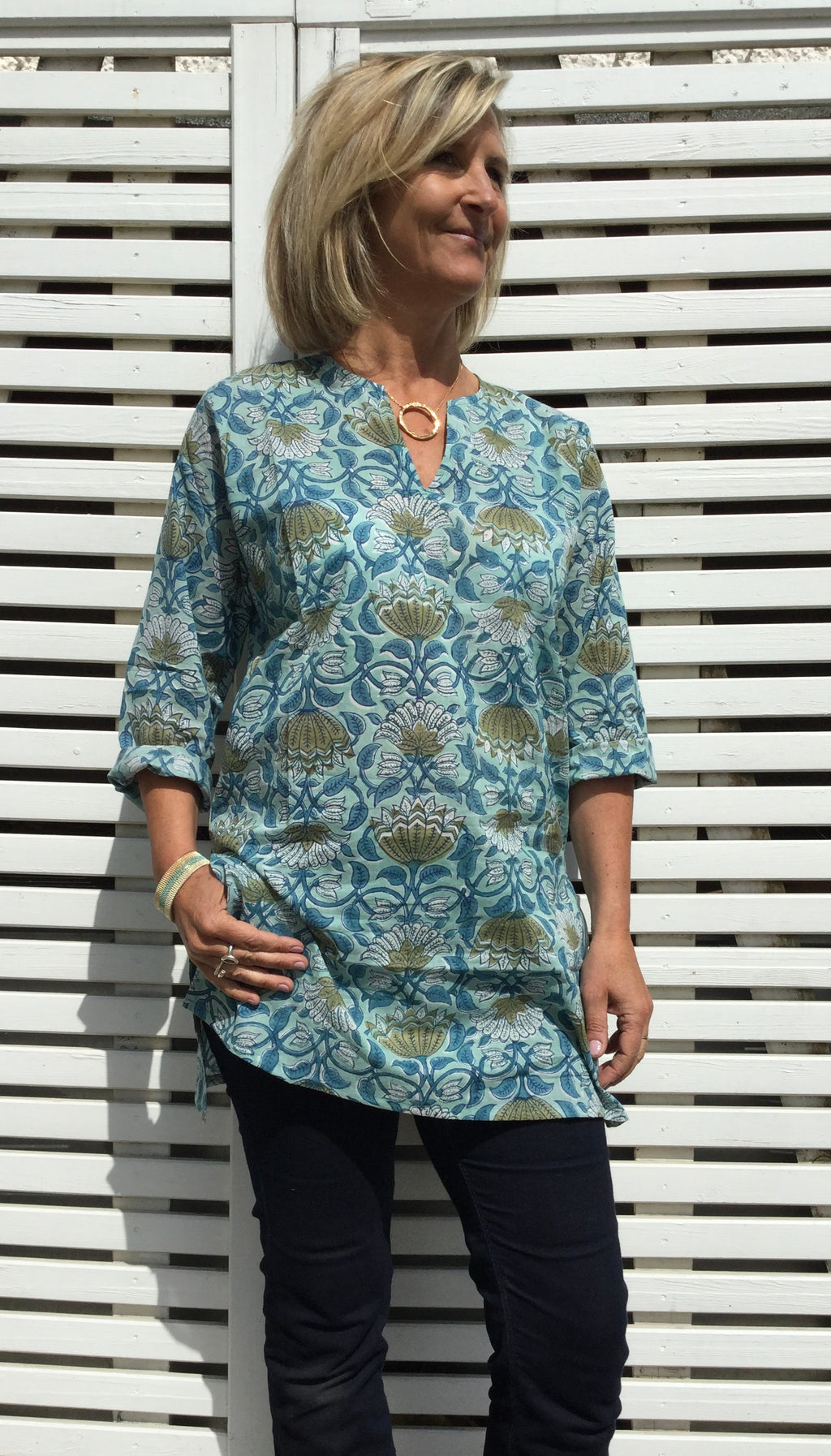 Ladies cotton Kaftan - Selva