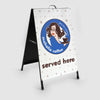 Mahalia Coffee A Frame Sandwich Board