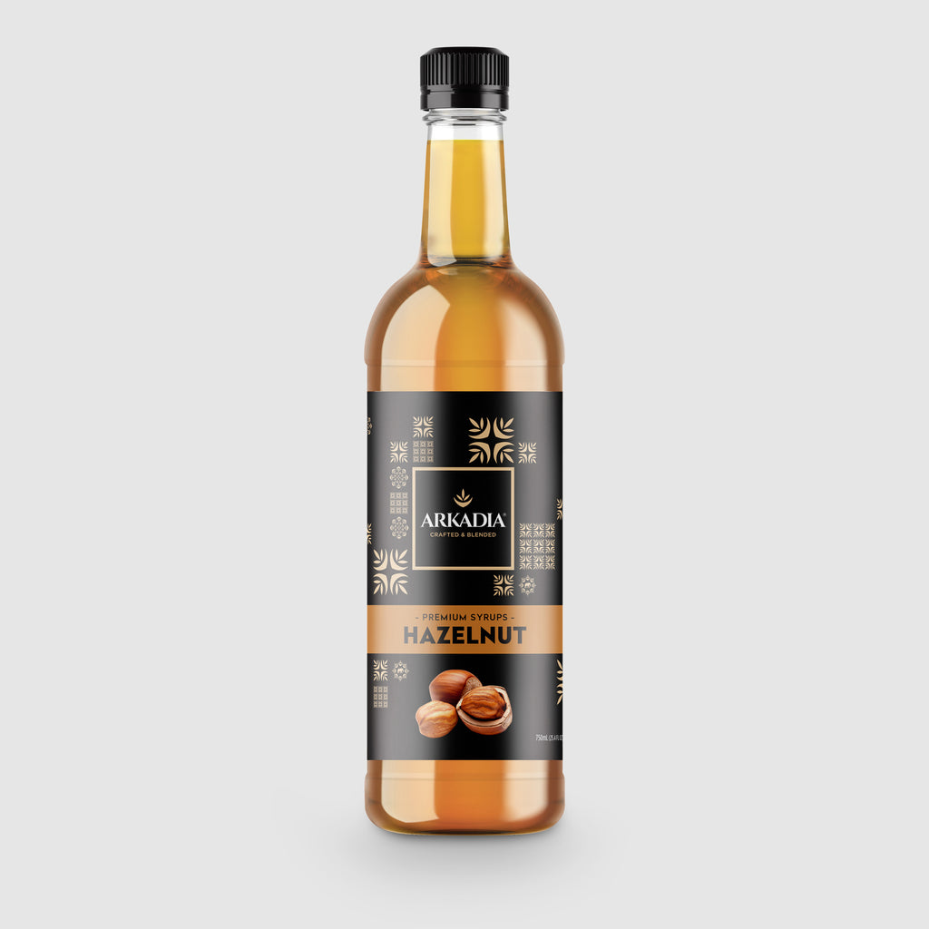 Arkadia Premium Hazelnut Syrup 750ml