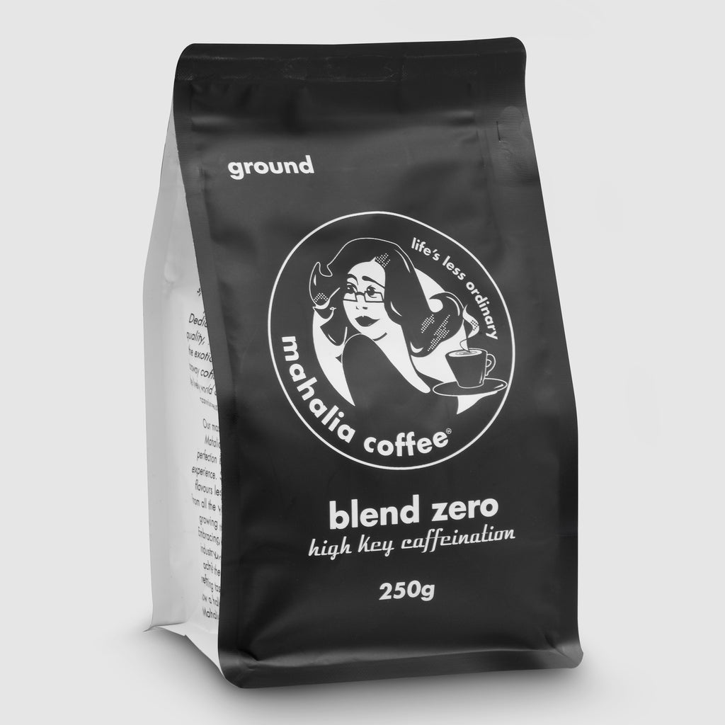 Mahalia Coffee Blend Zero High Key Caffeination 250g coffee beans