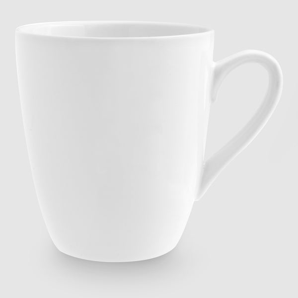 Plain White Coffee Mug 320ml