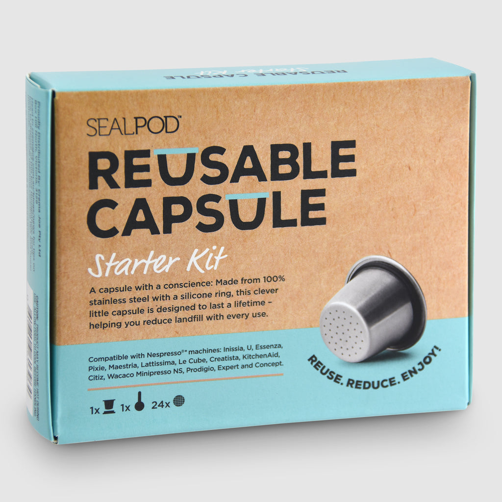 Refillable SealPod Starter Pack - Nespresso® compatible