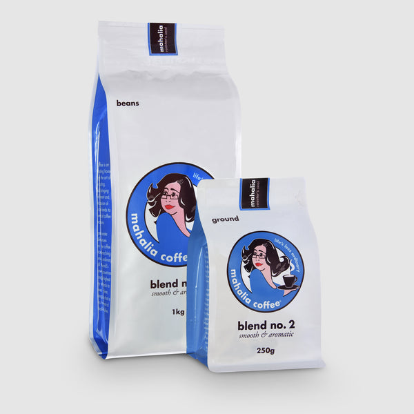Mahalia Coffee Blend No2 in 1kg & 250g