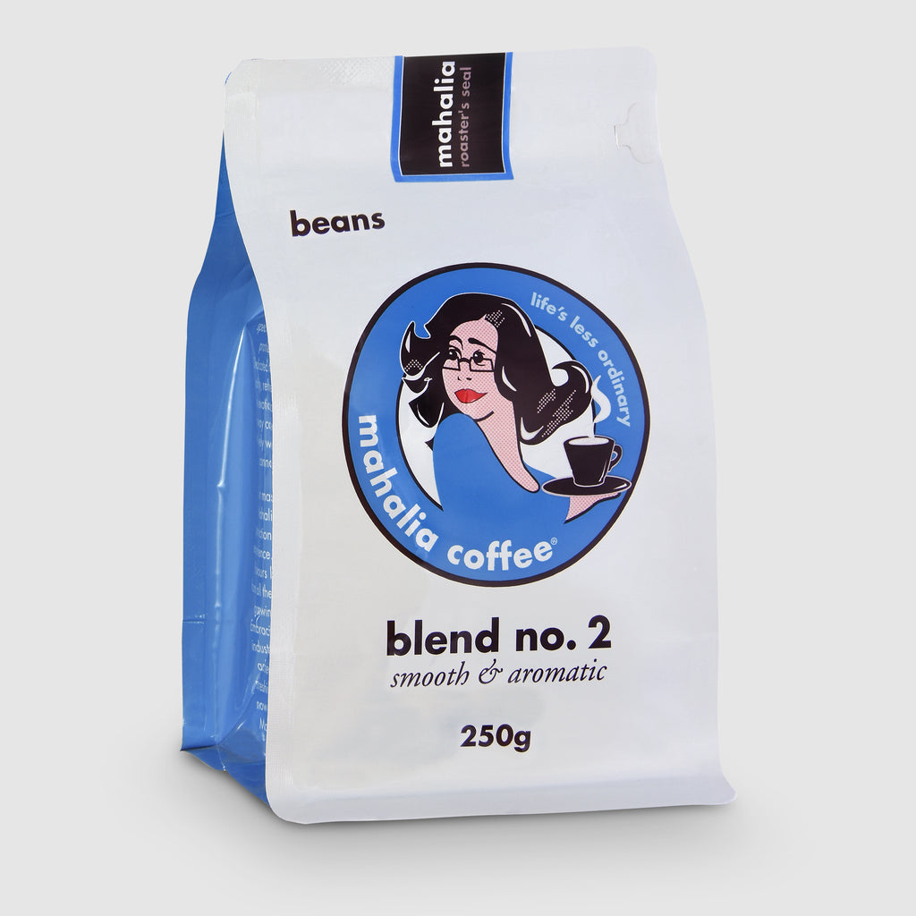 Mahalia Coffee Blend No2 in 250g bag