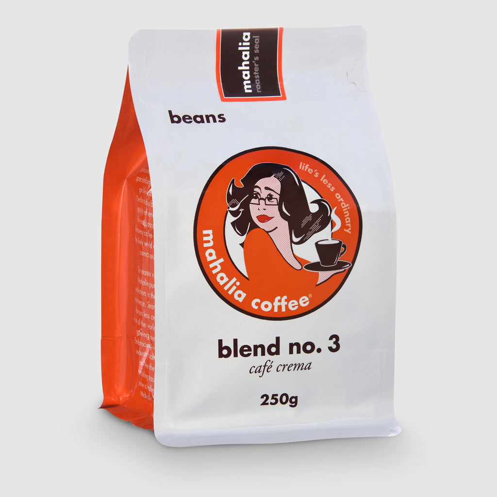 Mahalia Coffee Blend No3 Cafe Crema 250g