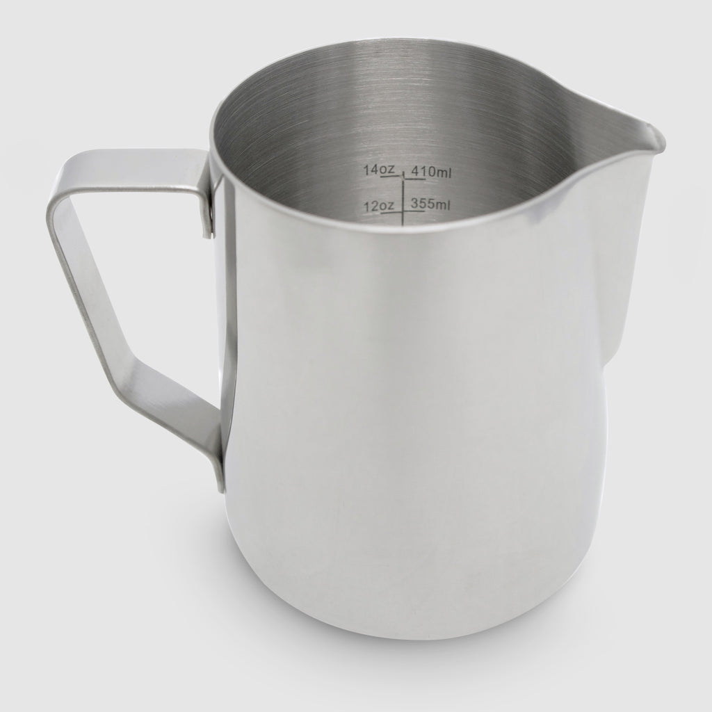 Rhinoware Pro Milk Pitcher in Silver