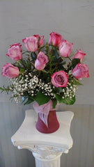 Medium Stemmed Dozen Roses/ Assorted Colors