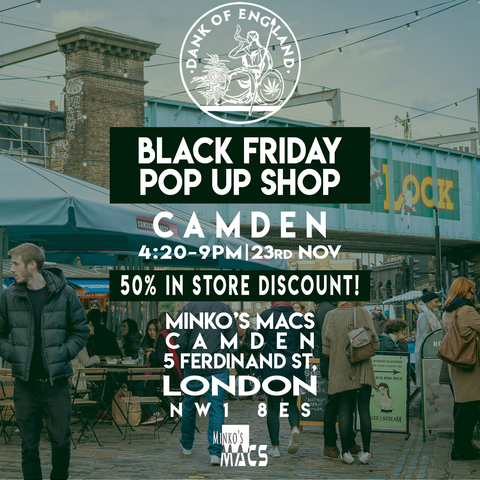 Dank Of England Camden Black Friday