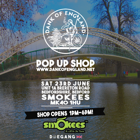 Dank Of England Pop UP Bedford