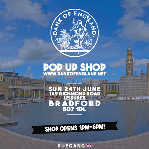 Dank Of England Pop UP bradford