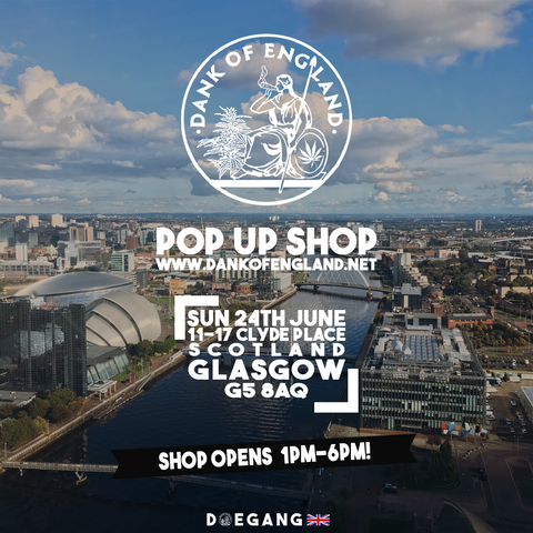 Dank Of England Pop UP Glasgow