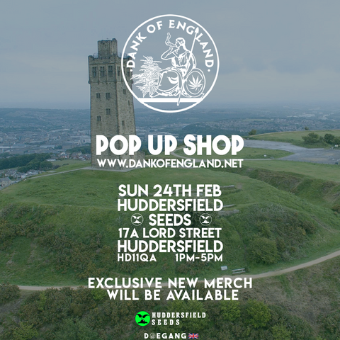 Dank Of England Pop UP Huddersfield