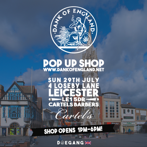 Dank Of England PopUp Leicester