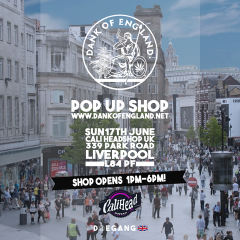 Dank Of England Pop Up Liverpool