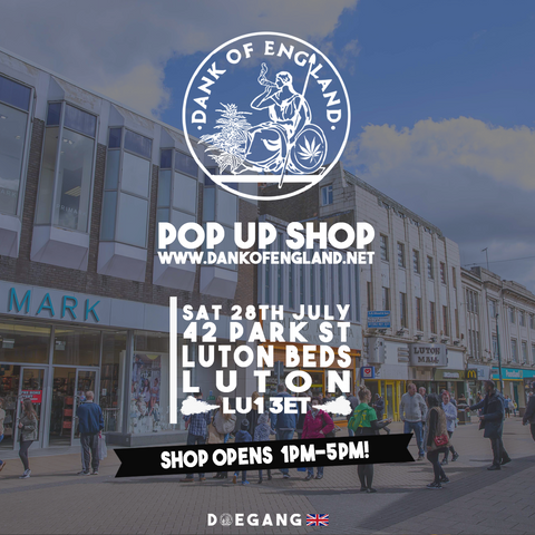 Dank Of England Pop UP Luton