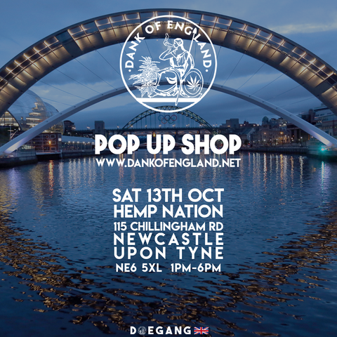 Dank Of England Pop UP NewCastle