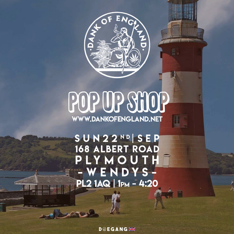 Dank Of England Pop UP Plymouth