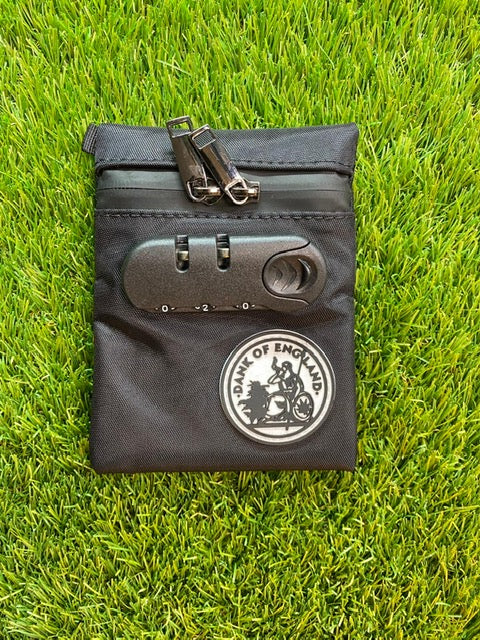 DOE SMELL PROOF LOCKABLE POUCHES BAG