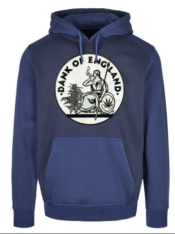 DOE TWO-TONE LARGE LOGO HOODY