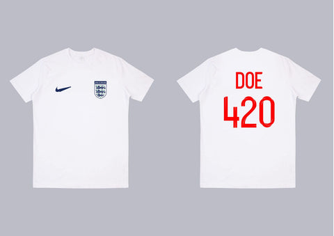 Dank Of England Football Jersey