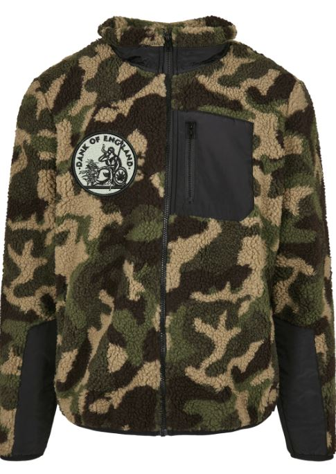 DOE SHERPA FLEECE ZIP-UP