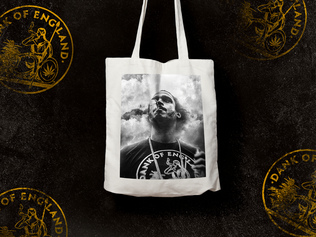 Tote Bag Black The Ripper