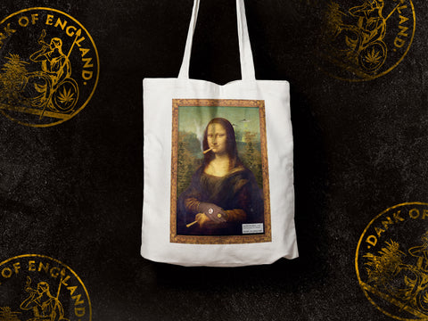 Stoner Lisa Canvas Tote Bag