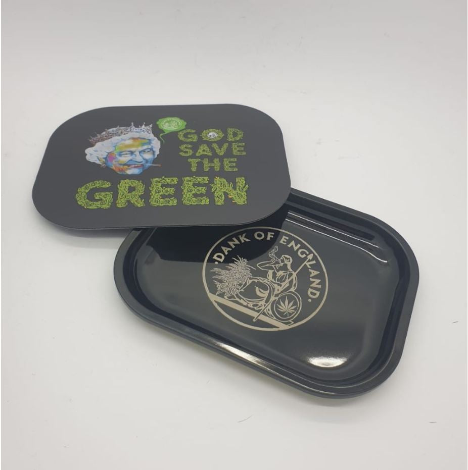 Magnetic God Save the Green DOE Mini Tray