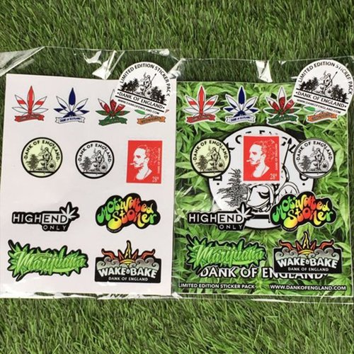 DOE Collectors Sticker Pack