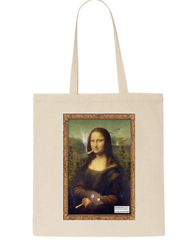 Tote Bag Stoner Lisa Canvas