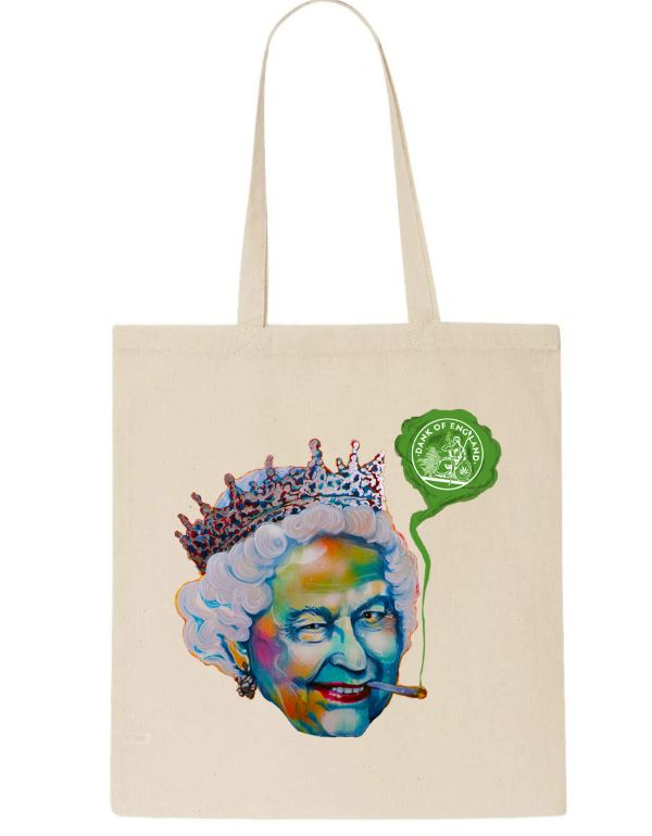 Tote Bag Queen