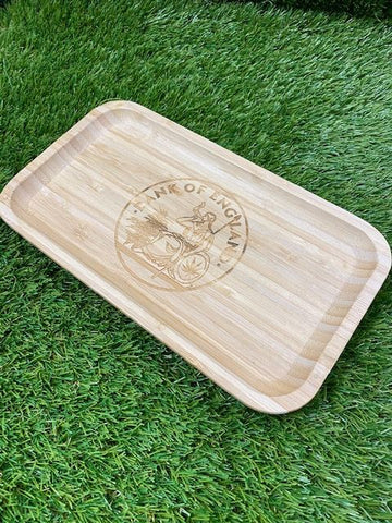 DOE Wooden Tray