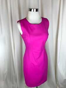 Elie Tahari Magenta Shift Dress | Size 4 - New With Tags!