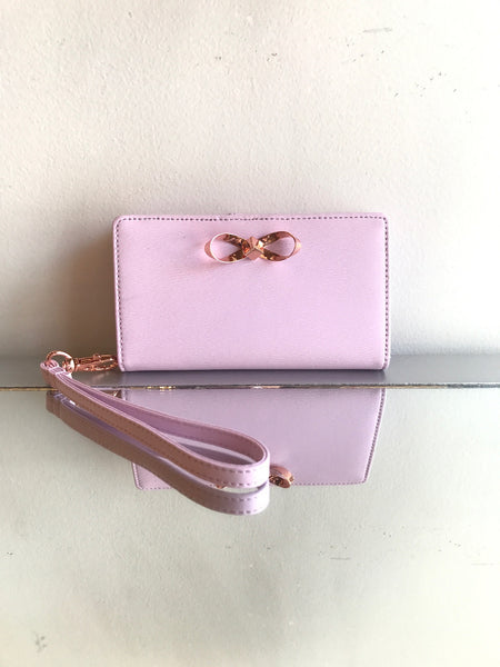 Ted Baker Pink Wristlet - New with Tags