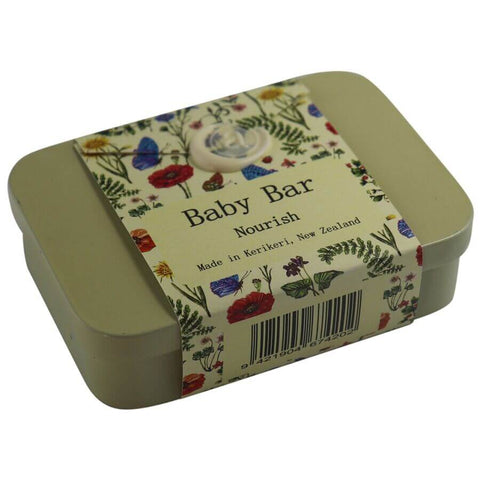 Baby Lotion Bar & Storage Tin Set
