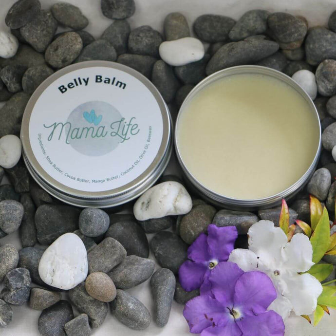Natural belly balm moisturizer for pregnant women. Help belly stretch and itch