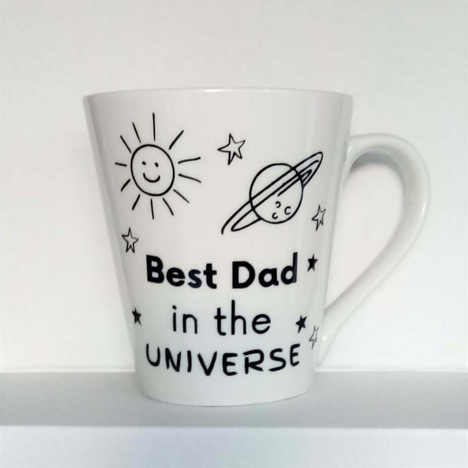 Best Dad in the Universe Mug