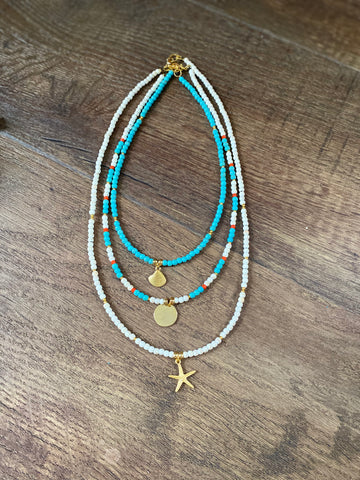 Seashore Necklaces by Wish