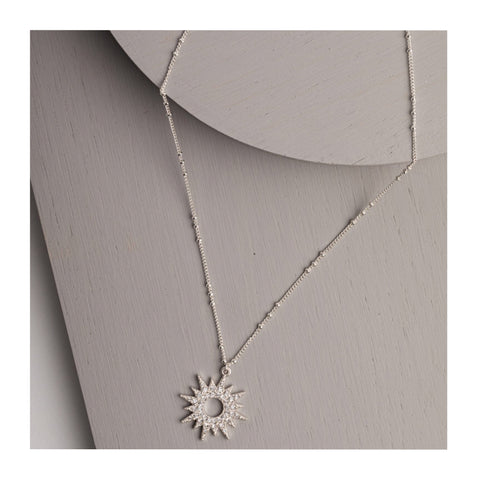 Olia Maeve Sunburst necklace