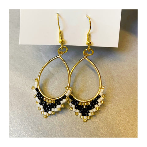 Beaded earrings by Wish