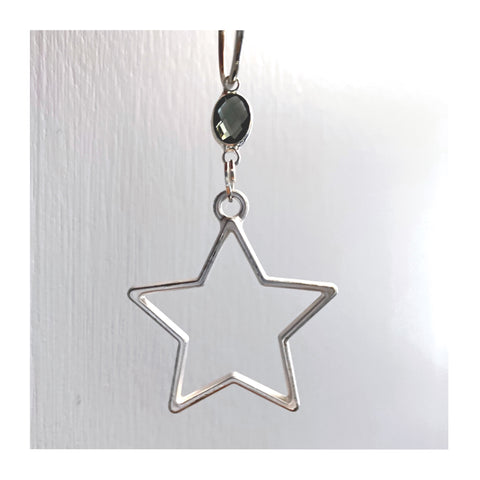 Star embellished earrings by WISH