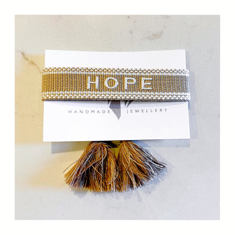 HOPE friendship bracelet