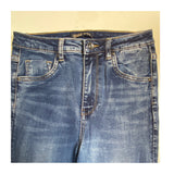 Toxik faded blue high waisted skinnies