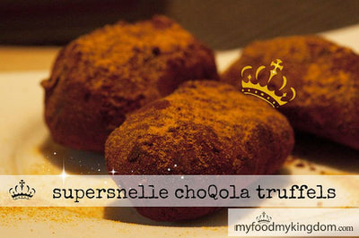 Supersnelle choQola truffels