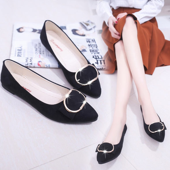 Women Shallow Mouth Candy Color S/S Shoes