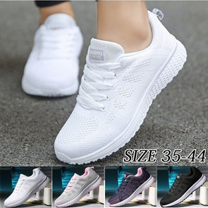 Women  Fashion Breathable Light Running Shoes