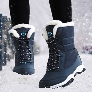 Casual Women Winter Snow Waterproof Hiking Ankle Boots